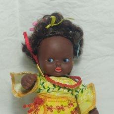 Muñecas Lesly y Barriguitas: PRECIOSA BARRIGUITA AFRICANA. Lote 221572601
