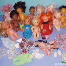 Muñecas Lesly y Barriguitas: GRAN LOTE DE MUÑECAS BARRIGUITAS ANTIGUAS DE FAMOSA ORIGINALES. Lote 221950441