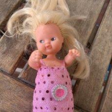 Muñecas Lesly y Barriguitas: MUÑECA BARRIGUITA DE FAMOSA. ROPA SIN ETIQUETA.. Lote 221970080