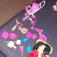 Muñecas Lesly y Barriguitas: LOTE BARRIGUITA CHINITA Y JUGUETES. Lote 222088176