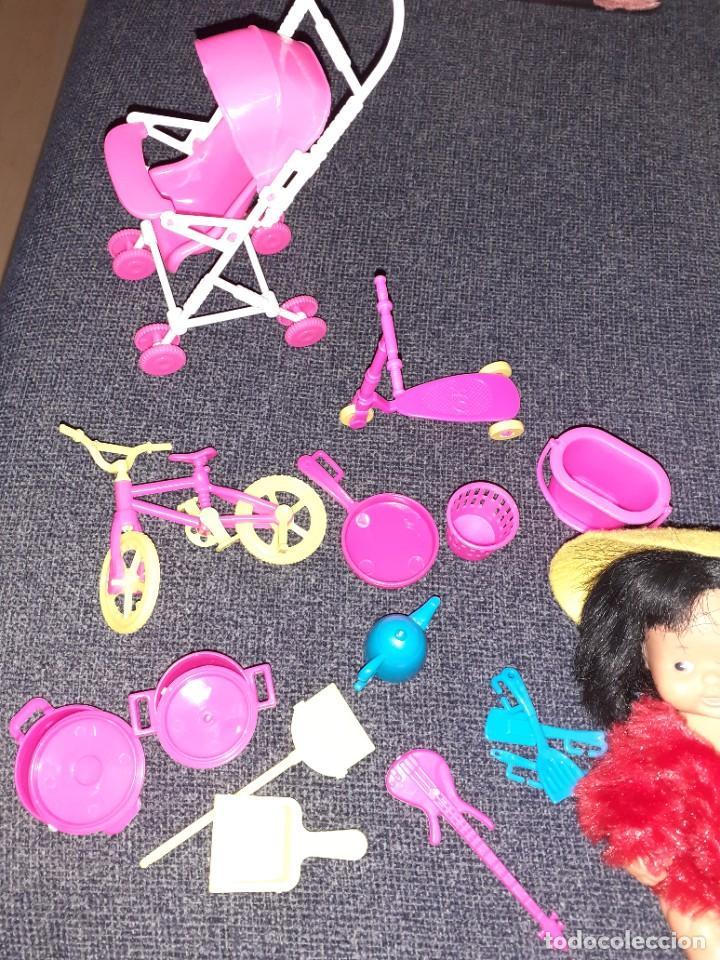 Muñecas Lesly y Barriguitas: Lote barriguita chinita y juguetes - Foto 3 - 222088176