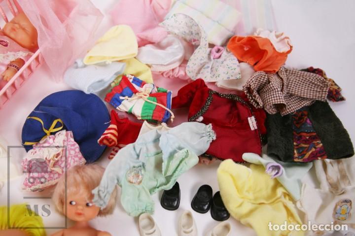 Muñecas Lesly y Barriguitas: Gran Conjunto 16 Muñecas Barriguitas de Famosa con Guardería - Retoño, Careta Lobo... - Años 70-80 - Foto 26 - 222429170