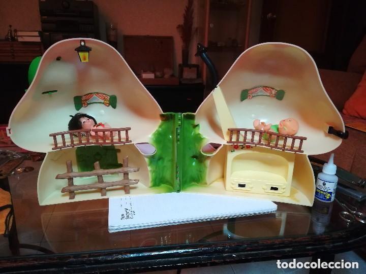 Muñecas Lesly y Barriguitas: LA CASITA DEL BOSQUE DE BARRIGUITAS. CON CAJA ORIGINAL Y DOS MUÑECOS - Foto 4 - 222681157