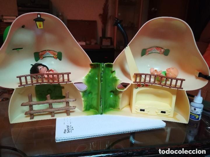 Muñecas Lesly y Barriguitas: LA CASITA DEL BOSQUE DE BARRIGUITAS. CON CAJA ORIGINAL Y DOS MUÑECOS - Foto 7 - 222681157