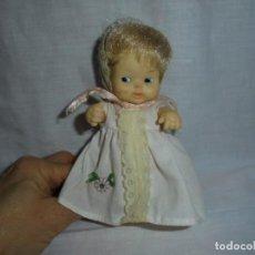 Muñecas Lesly y Barriguitas: BARRIGUITAS RUBIA AÑOS 80 ETIQUETA DE FAMOSA 1350.Nº 97 EN LA NUCA.MANCHAS EN LA CARA. Lote 223121598