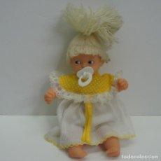 Muñecas Lesly y Barriguitas: BARRIGUITAS CON CHUPETE Y PILA PELO DE LANA .NO FUNCIONA.. Lote 225294030