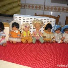 Bonecas Lesly e Barriguitas: BARRIGUITAS AEROBIC - AÑOS 80 Y 6 BARRIGUITAS MÁS - FAMOSA - ONIL ( ALICANTE ). Lote 226155800