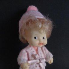 Bonecas Lesly e Barriguitas: BARRIGUITAS ANTIGUO CONJUNTO RAYAS LANA - RESERVADO. Lote 230344095