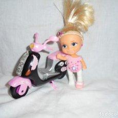 Muñecas Lesly y Barriguitas: BARRIGUITAS CON MOTO VESPA. Lote 230925320