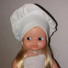 Bambole Lesly e Barriguitas: BARRIGUITAS DE FAMOSA COCINERA COMPLETA AÑOS 80. Lote 235841930