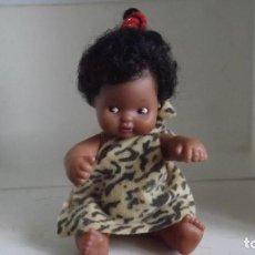 Muñecas Lesly y Barriguitas: BARRIGUITA DEL MUNDO KENIA DE FAMOSA. Lote 236585285