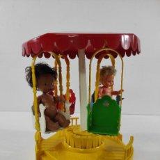 Muñecas Lesly y Barriguitas: BARRIGUITAS - TIO VIVO MUSICAL - CARRUSEL - CON DOS BARRIGUITAS. Lote 236619050