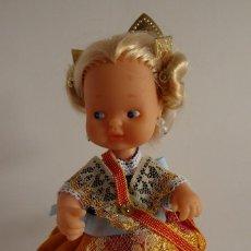 Muñecas Lesly y Barriguitas: BARRIGUITAS CON TRAJE REGIONAL DE FALLERA. Lote 243141120