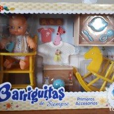 Muñecas Lesly y Barriguitas: BARRIGUITAS DE FAMOSA PRIMEROS ACCESORIOS. Lote 243498935