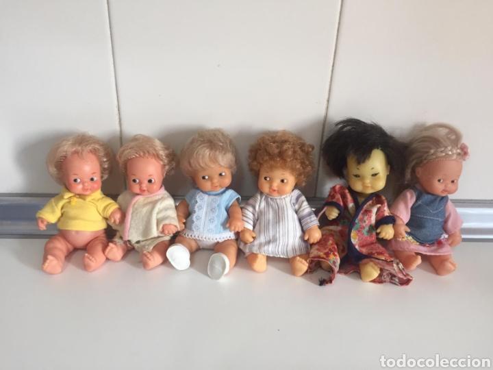 Muñecas Lesly y Barriguitas: BARRIGUITAS DEL MUNDO CASTAÑO PELO RIZADO - Foto 5 - 244908995