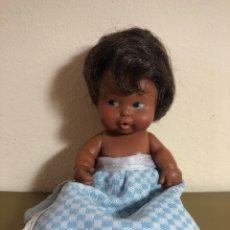 Muñecas Lesly y Barriguitas: MUÑECA BARRIGUITAS DE FAMOSA NEGRA. Lote 250165695