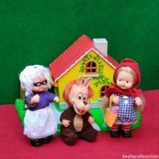 Muñecas Lesly y Barriguitas: BARRIGUITAS CAPERUCITA ROJA ORIGINAL AÑOS 80 COMPLETO. Lote 251679560