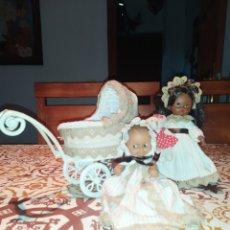 Muñecas Lesly y Barriguitas: BARRIGUITAS MULATO Y ALINE MULATA. Lote 252555210