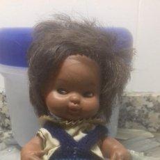 Muñecas Lesly y Barriguitas: BARRIGITA ANTIGUA DE FAMOSA 97 NEGRITA. Lote 253941435