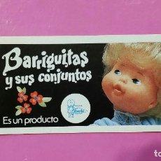 Muñecas Lesly y Barriguitas: CATALOGO DE BARRIGUITAS. Lote 254646830