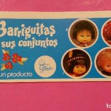 Muñecas Lesly y Barriguitas: CATALOGO DE BARRIGUITAS. Lote 254646845