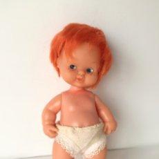 Bonecas Lesly e Barriguitas: BARRIGUITA PELIRROJO PECOSO AÑOS 80 FAMOSA. Lote 254753475