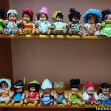 Muñecas Lesly y Barriguitas: BARRIGUITAS DEL MUNDO. Lote 259026225