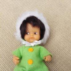 Muñecas Lesly y Barriguitas: MUÑECA BARRIGUITAS ESQUIMAL ANTIGUA. Lote 262320685