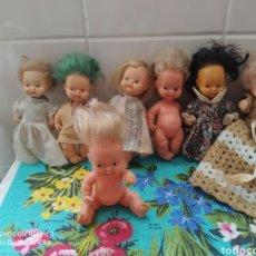 Muñecas Lesly y Barriguitas: LOTE 11 MUÑECAS BARRIGUITAS ANTIGUAS. Lote 288580823