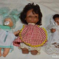 Muñecas Lesly y Barriguitas: LOTE 3 MUÑECAS VARIADAS DE FAMOSA / BARRIGUITAS Y OTRAS - MADE IN SPAIN - ¡MIRA FOTOS Y DETALLES!. Lote 266786984
