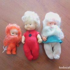 Muñecas Lesly y Barriguitas: LOTE DE TRES BARRIGUITAS DE FAMOSA. Lote 269045273