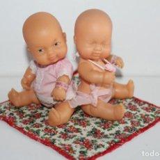 Muñecas Lesly y Barriguitas: 2 BARRIGUITAS RETOÑOS DE FAMOSA - AÑOS 80. Lote 269736318