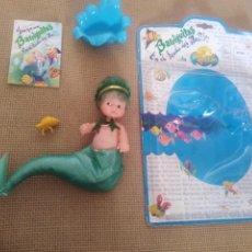 Muñecas Lesly y Barriguitas: BARRIGUITAS EN EL FONDO DEL MAR TRITON. Lote 270631863