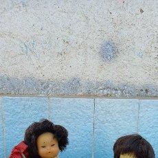 Muñecas Lesly y Barriguitas: MUÑECA BARRIGUITAS CHINA, ORIENTAL EN NUCA 57 Y 97 MÁS CARRO NO ORIGINAL. Lote 273526978