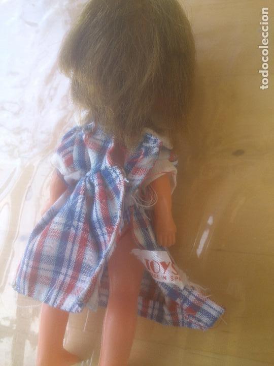 Muñecas Lesly y Barriguitas: MUÑECA PEQUEÑO TAMAÑO TOYSE , VESTIDO ORIGINAL. - Foto 4 - 277558178