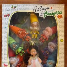 Muñecas Lesly y Barriguitas: BARRIGUITAS BLANCANIEVES Y LOS 7 ENANITOS - EL BOSQUE DE BARRIGUITAS. Lote 277729308