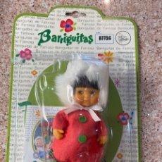 Muñecas Lesly y Barriguitas: BARRIGUITAS ESQUIMAL ROJO. Lote 278209508
