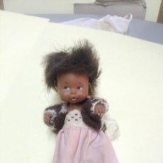 Muñecas Lesly y Barriguitas: ANTIGUA MUÑECA BARRIGUITAS NEGRA, N° 97 EN LA NUCA.. Lote 278552808