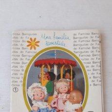 Muñecas Lesly y Barriguitas: BARRIGUITAS DE FAMOSA CATALOGO ORIGINAL. Lote 284803178