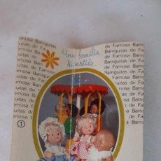 Muñecas Lesly y Barriguitas: BARRIGUITAS DE FAMOSA CATALOGO ORIGINAL. Lote 284803223