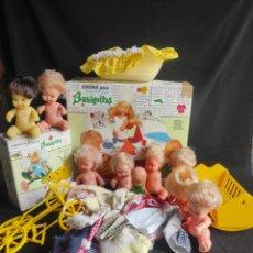 Bambole Lesly e Barriguitas: GRAN LOTE DE BARRIGUITAS DE LOS 70. Lote 286003688