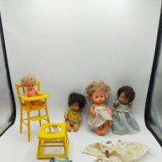 Bambole Lesly e Barriguitas: LOTE DE BARRIGUITAS TAKATA Y SILLA DE FAMOSA. Lote 286438968