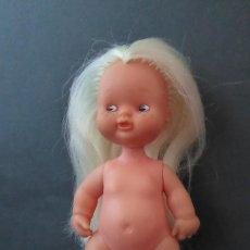 Bambole Lesly e Barriguitas: BARRIGUITAS CON PECAS Y PRECIOSA MELENA. Lote 287538758