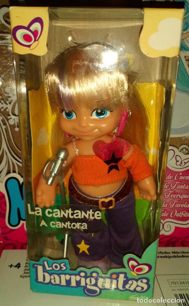 BONITA MUÑECA LOS BARRIGUITAS, LA CANTANTE, EN CAJA, SIN ABRIR - FAMOSA - 2010 (Juguetes - Muñeca Española Moderna - Barriguitas)