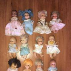 Muñecas Lesly y Barriguitas: BARRIGUITAS LOTE 12 MUNECAS FAMOSA. Lote 288152043