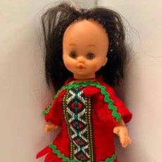 Muñecas Lesly y Barriguitas: ANTIGUA MUÑECA, B.B. MADE IN SPAIN EN LA NUCA. TAMAÑO BARRIGUITAS. UNOS 16CMS.. Lote 288208288