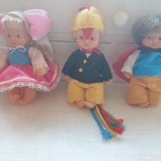 Muñecas Lesly y Barriguitas: LOTE MUÑECAS BARRIGUITAS DEL MUNDO. Lote 289205383