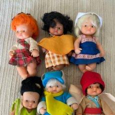Muñecas Lesly y Barriguitas: LOTE BARRIGUITAS FAMOSA ANTIGAS. Lote 289703973
