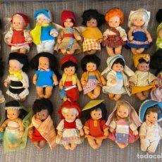 Muñecas Lesly y Barriguitas: LOTE DE BARRIGUITAS ANTIGAS FAMOSA. Lote 292387913