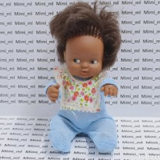 Muñecas Lesly y Barriguitas: ANTIGUA MUÑECA BARRIGUITA FAMOSA NEGRITA. Lote 293953433
